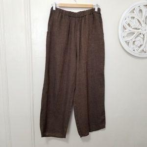 Flax size S linen pants